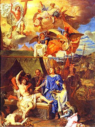 Sainte Clotilde and Clovis