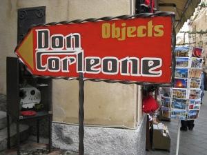 Don Corleone sign