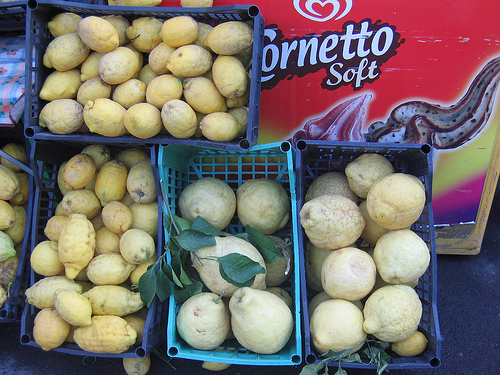 Pompeiian lemons
