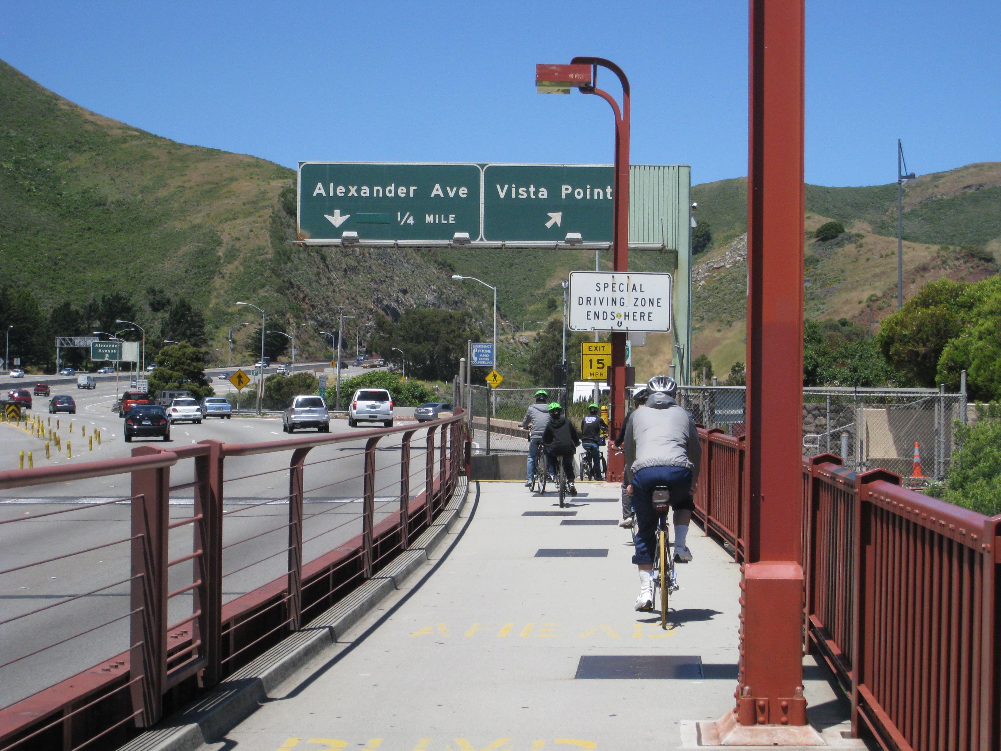 Danger On The Golden Gate Bridge Epicurienne